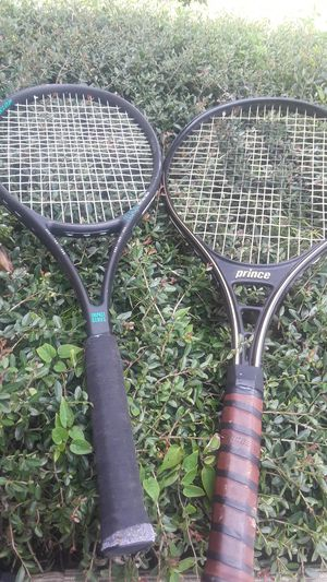 Prince and Dunlop tennis racquets for sale for Sale in Lutz, FL