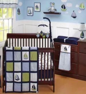 Nautica kids crib bedding / toddler bedding for Sale in Virginia Beach, VA