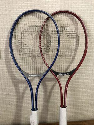 Pair of Spalding Retro Tennis Rackets for Sale in Anaheim, CA