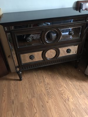 High end dresser and end tables great condition. Packaged or sold separately for Sale in Clearwater, FL