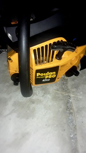 """Poulan Pro 18"""" inch Chainsaw for Sale in Glendale, AZ"""