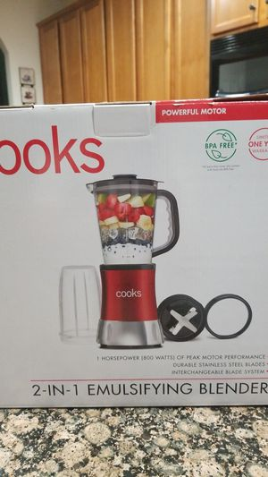 cooks blender 2 in 1 for Sale in Harrisburg, NC