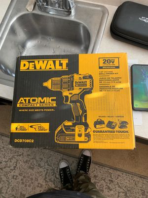 Brand new Dewalt 20v drill+ 2 batterys and charger for Sale in Everett, WA