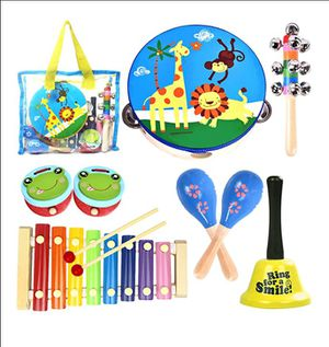 Toddler Musical Instruments Baby Musical Toys for Kids 1 2 3 4 Children Wooden Percussion Set for Sale in Jacksonville, FL