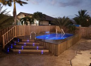 Above ground pools and deck for Sale in Cutler Bay, FL