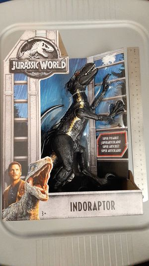 Indoraptor Jurassic Woorld for Sale in Dallas, TX