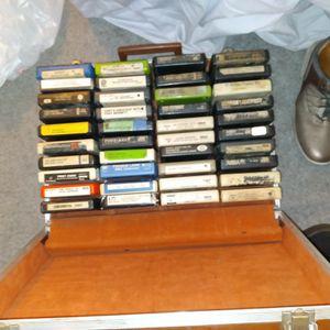 Over 60 8-track Cassette From Blondie , Rod Stewart,abba,Abba, Elvis Presley for Sale in San Bernardino, CA