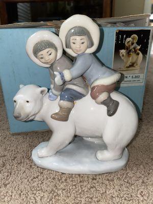 LLADRO Eskimo Rider Children's Figurine for Sale in Friendswood, TX