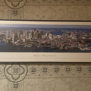 Panoramic Photo Of Boston for Sale in Manchester, CT