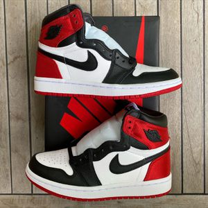 Air Jordan 1 Satin Black Toe for Sale in Washington, DC