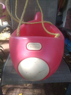 Vintage little tikes airplane swing for Sale in Boca Raton, FL