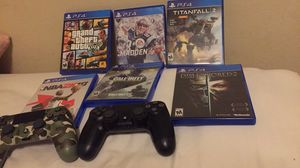 PS4 games and controllers for Sale in Austin, TX