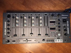 Pioneer DJM-3000 DJ Mixer - Near New Condition, Rack Stored 4-Channel for Sale in Maynard, MA