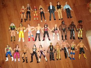 WWE/WCW wrestling figure collection! for Sale in Hubert, NC