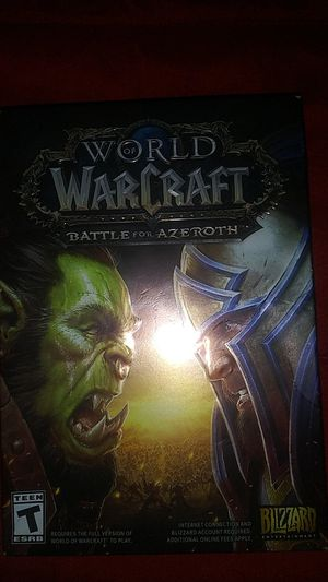 World or Warcraft for Sale in Long Beach, CA