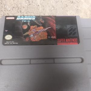 1991 Darius Twin Super Nintendo for Sale in Scottsdale, AZ