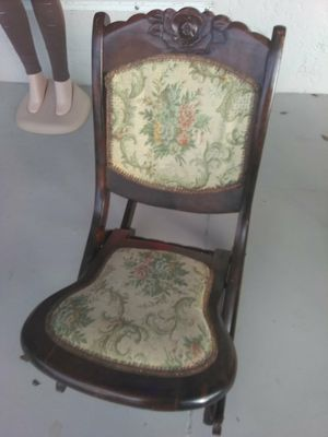 Antiques folding Rocking chair for Sale in Gulf Stream, FL