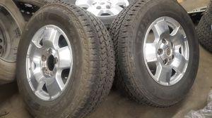 Toyota Tundra Sequoia 18 rims tires wheels 265/70 18 for Sale in Gardena, CA
