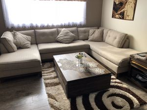 couch, table and cupboard for Sale in Worth, IL