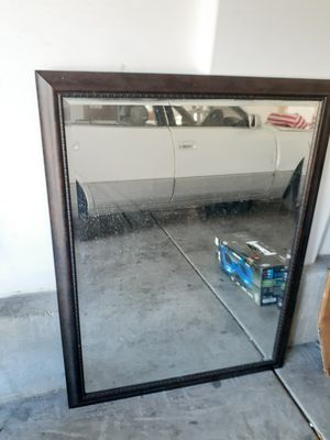 Brown tall wall mirror for Sale in Las Vegas, NV