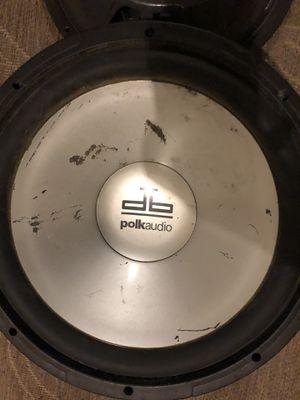 2 polk audio 12 for Sale in League City, TX