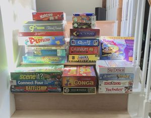 Board/card games and puzzles for Sale in Kingwood, TX