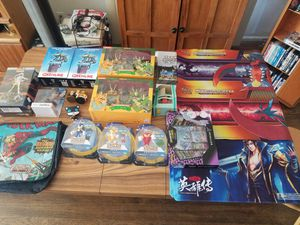 Various toys, figures. Etc for sale (NECA, TMNT, Gremlins, Sonic, Pokemon Cards) for Sale in Los Angeles, CA