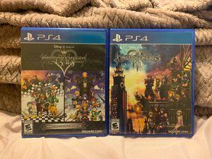 Kingdom hearts 1.5+2.5 ReMix and Kingdom hearts 3 bundle for Sale in Spring Valley, CA