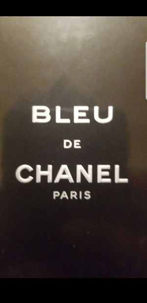 Chanel, Bleu de Chanel. Perfume for Man. 100ml. (Large, New & sealed in box.) Display. for Sale in Chelsea, MA