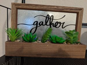 Artificial Succulent Planter for Sale in Irving, TX