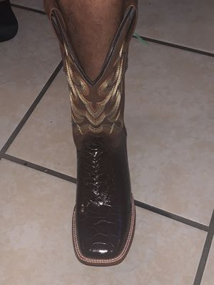 Men's Western Work Boots Size 9 for Sale in Plant City, FL