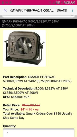 Powerhouse heaters for Sale in Sissonville, WV