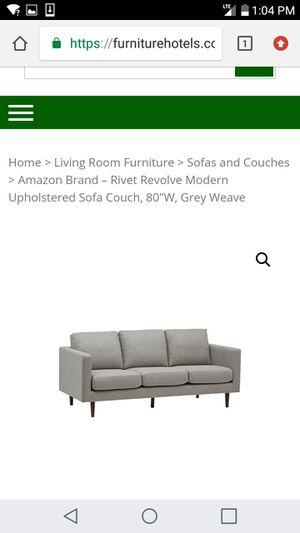 Rivet Revolved Upholsterd Sofa for Sale in Columbus, OH