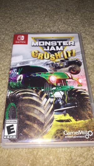Monster jam crush it for Sale in Rockville, MD
