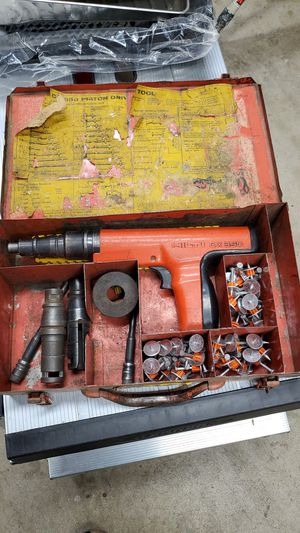 Hilti DX-350 Powder Actuated Fastening Systems Nail Gun Kit With Case for Sale in Riverside, CA