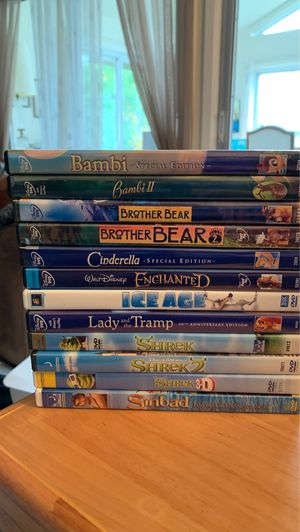 Lot of 12 Disney DVD Movies - all for $40 for Sale in Elk Grove Village, IL