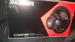 Brand New kicker subwoofer and amp for Sale in Fresno, CA