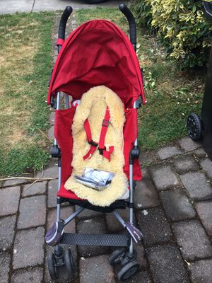 Strollers, ring slings & wrap, portable high chair, bouncy chair, boppy breastfeeding pillows, Stokke baby set, baby bath for Sale in Seattle, WA