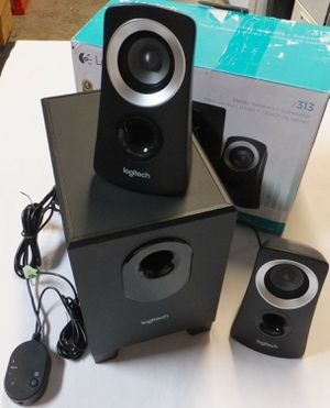 PC Stereo Speaker System With Subwoofer Z313 Sistema De Subwoofer for Sale in Santee, CA