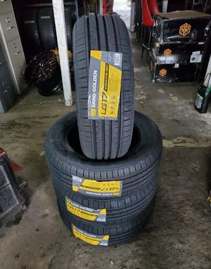 215/60/16 new tires for $300 with balance and installation we also finance {contact info removed} ask for Dorian 7637 airline dr houston TX 77037 for Sale in Houston, TX