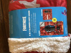 Fortnite 2 in 1 slumber cozy cover for Sale in Palmdale, CA