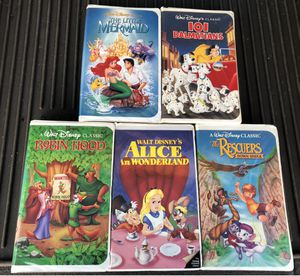 Disney Black Diamond VHS Collection for Sale in Murfreesboro, TN