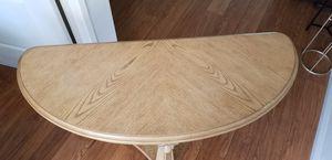 Solid oak table for Sale in Whittier, CA
