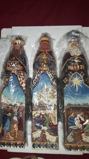 JIM SHORE HEARTWOD CREEK CHRISTMAS THREE KINGS for Sale in Pompano Beach, FL