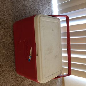 Red Coleman Cooler for Sale in Vancouver, WA