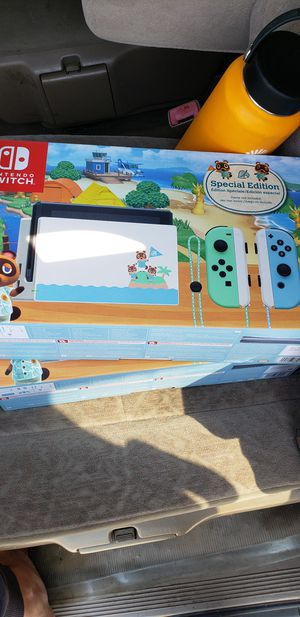 Nintendo Switch Animal Crossing Edition for Sale in Alhambra, CA