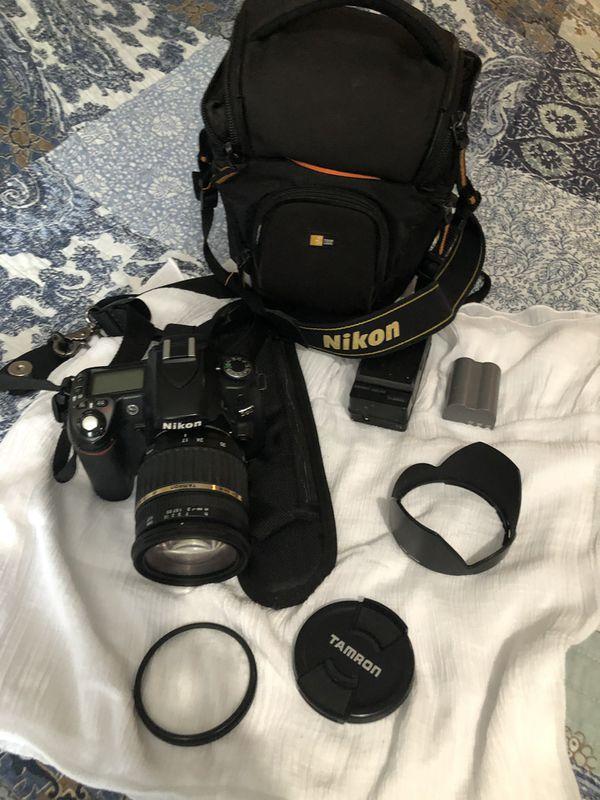 D80 DSLR Camera with Af 17-50mm lens