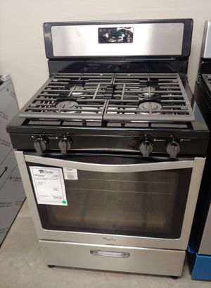 """^^^New Whirlpool"""""""" Stainless Steel Gas Stove Oven..1 Year Warranty for Sale in Gilbert, AZ"""