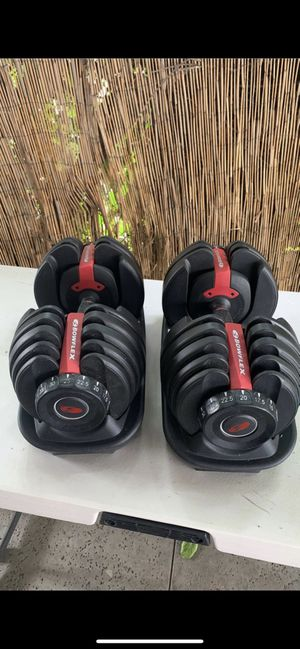 Bowflex dumbbells 552 for Sale in La Puente, CA