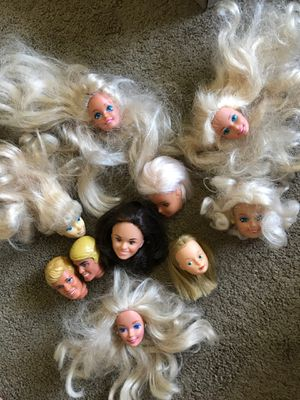 Barbie And Ken doll head for Sale in Arcadia, CA